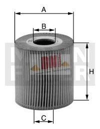Mann Filter / Ölfilter HU 932/4x