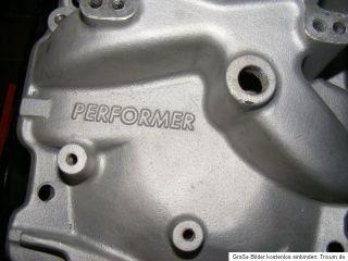 Edelbrock Performer Ansaugspinne gebraucht Chevy SB Chevrolet V8