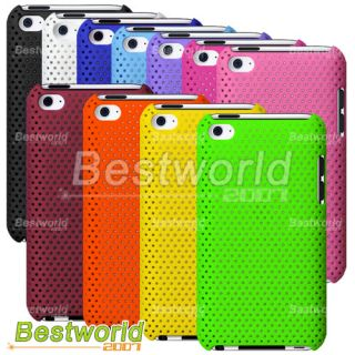 Hole Back Cover Hard Case for iPod Touch 4 4th Gen