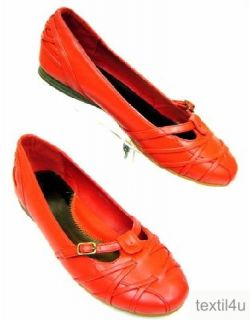 Damen Schuhe Ballerinas Slipper rot