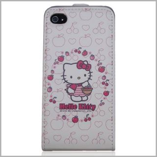 Hello Kitty Flip Case Handytasche Apple iPhone 4