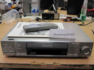 VHS Panasonic NV HS960EG S mit FB/BDA 12 Monate Garantie*
