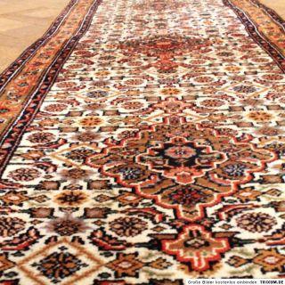 Edel Handgeknüpfter Orient Perser Teppich Läufer Bidjar 80X300cm