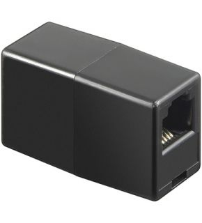 Telefon Kupplung RJ11 Buchse RJ11 Buchse Adapter 1F/1F