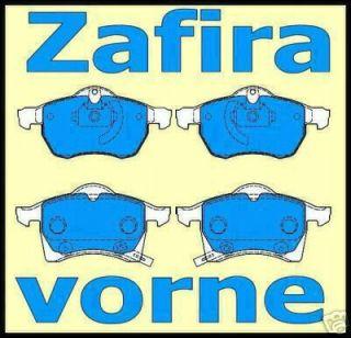 Opel Zafira Bremsbeläge Bremsklötze ***Neu** vorne