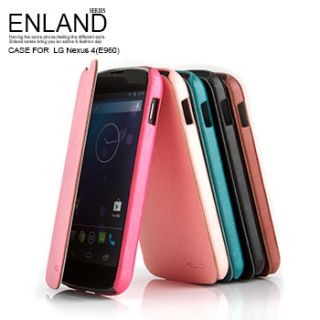 KLD Enland Style Flip PU Leather Case Cover Pouch for LG E960 Google