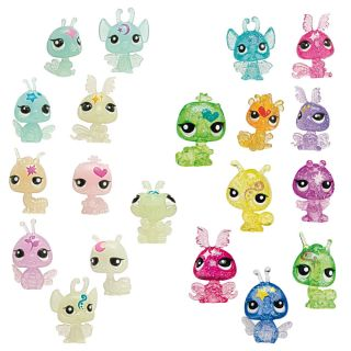 Littlest Pet Shop 10er Set Moonlight Fairies Minifiguren,Mindestalter