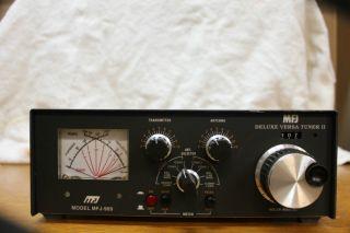 MFJ 969 Deluxe VERSA Tuner II antenna tuner