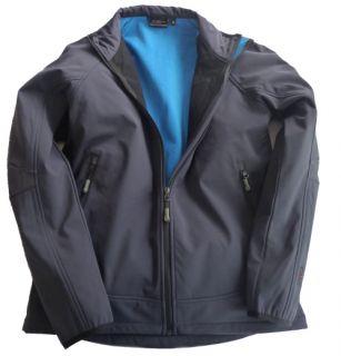 Campagnolo Herren Jacke Softshell blau grau Gr. XL