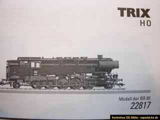 Trix HO BR85 Dampflok mit DSS Art.22817   NEU