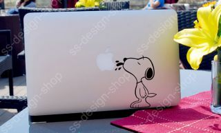 Snoopy Dog Peanuts Decal Sticker Notebook for Apple MacBook Pro