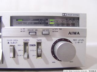 Vintage AIWA SD L60 Cassette Tape Deck mini