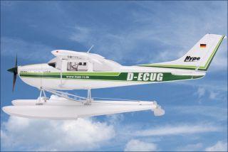 Cessna 182 Skylane Wasserflugzeug ARF Brushless Hype