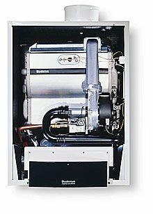 Buderus Brennwert GB162 15 kW + 150 Speicher + Zubehör