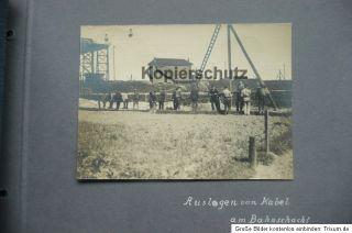 Orig. Fotoalbum, Bergbau, Zeche  Gräfin Laura Grube  Königshütte