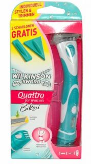 WILKINSON Quattro for Women Bikini Nassrasierer/Trimmer
