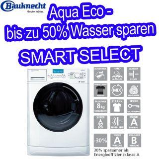 BAUKNECHT WA PL 984 FLD WASCHMASCHINE FRONTLADER   8 KG   SMART SELECT