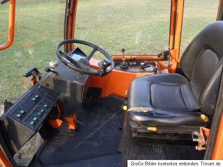 Holder C 230 Kleintraktor Schlepper mit Kubota Motor, Allrad Traktor