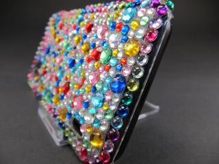 LG Optimus P970 Glitzer Schutz Hülle Hard Cover Case Strass Rosa Blau