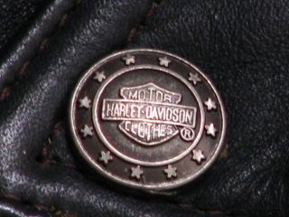 Org. Harley Davidson Heritage Oldschool Leder Jacke Größe XXL