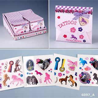 DEPESCHE Horses Dreams Tattoos im Umschlag 6097 Top Model