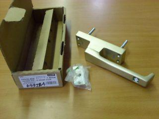 Fuhr TP970 Panik Treibriegel neusilber F2 DIN Links