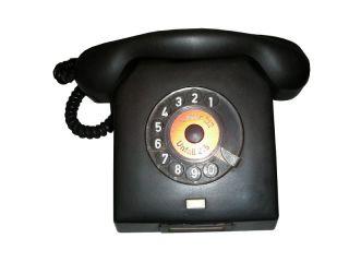 Rarität DDR Telefon Bakelit mit Wählscheibe #993