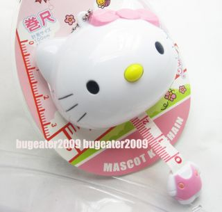 Cute Hello Kitty Soft Tape Measure Keychain Ruler Easy To Take