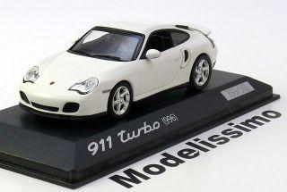43 Minichamps Porsche 911 (996) Turbo 3,6 2000 white