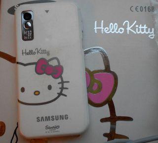 Samsung Star S5230 Hello Kitty   Weiss   Rosa (Ohne Simlock) Handy