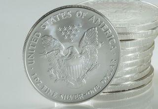 Silber Silver Eagle Liberty 1 oz 999 Silber 2011 NEU / TOP