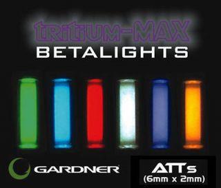 Gardner Tackle NEW Nano Bug ATTS Tritium Max Betalight Isotope 6mm x