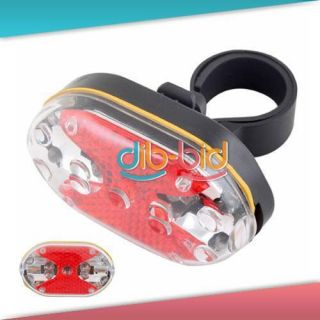 Flashing Safety 9 LED Bike Bicycle Rear Tail Light #3