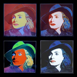 Andy Warhol   Portraits of Ingrid Bergman