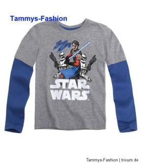 Star Wars the Clone Wars Anakin Skywalker Langarmshirt Shirt Gr.116