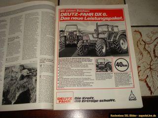 DLZ Traktoren 1983 Eicher/Steyr/MB Trac/Schlüter/Fiat/Same/Ford und