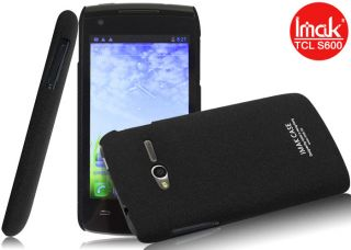 Black Cowboy Hard Cover Case LCD Guard Alcatel One Touch OT 992D Ultra