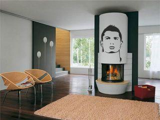 Ronaldo Wandtattoo real madrid Wandaufkleber Aufkleber z 998