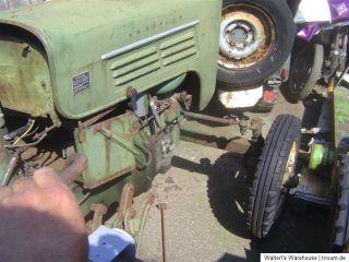 Alter Traktor Lanz Aulendorf Typ D415 Bj. 59   Ersatzteile