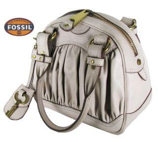 Schicke Fossil Leder Handtasche Tasche Damen NEU