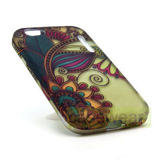 Flower Hard Case Phone Cover for Alcatel One Touch 995 New Accessory