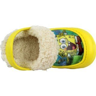 Yellow Toddler Boys Fleece Lined Clogs Shoes 5/6 9/10 (5/6) Shoes
