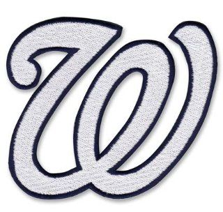 2009 Washington Nationals W Logo Patch Sports