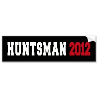 jon huntsmans sticker 2012