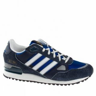 Adidas Trainers Shoes Mens Zx 750 Dark Blue Sports
