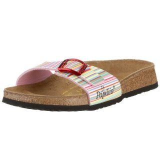 from Birko Flor in Colourful Lines Rose with a regular insole Shoes