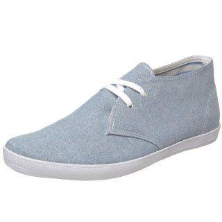 Keds Mens Chukka Chambray Fashion Sneaker,Light Blue,10.5 M US Shoes