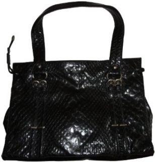 Jessica Simpson Purse Handbag Icon Tote Black Clothing