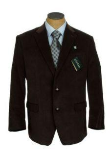 Ralph Lauren Mens Dark Brown Corduroy Sport Coat Jacket