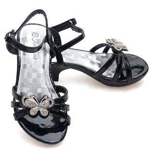 Butterfly Dress Heel Shoe Toddler 4 Little Girls 4 Fabulous Shoes